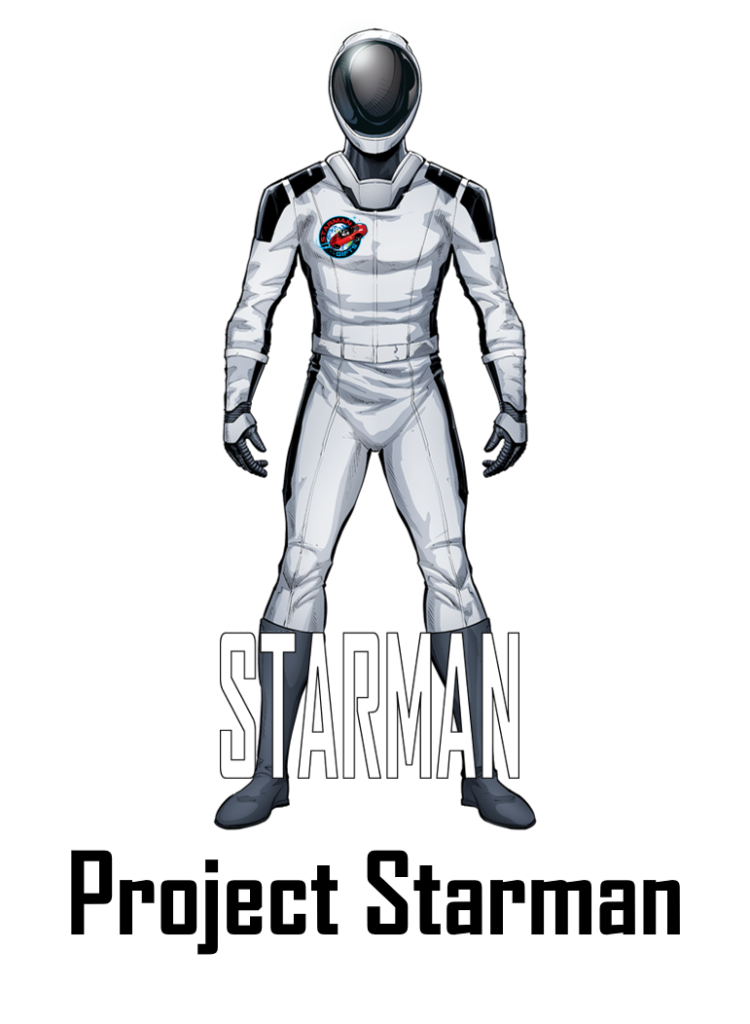 Adventures of Starman, SpaceX, Starman