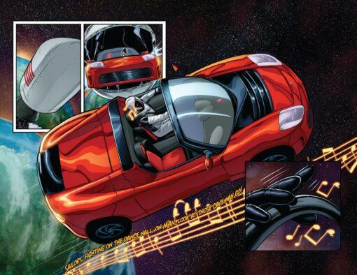 Starman, The Adventures of Starman, Starman Comic, SpaceX Starman