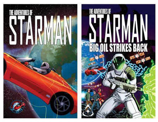 The Adventures of Starman, Episode 1 & 2 Starman, SpaceX Starman, Starman, Elon Musk Starman,